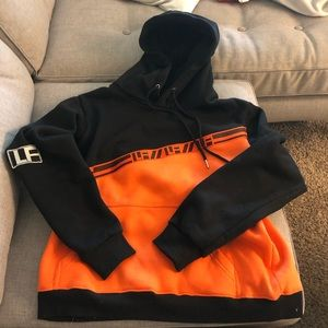 LF the brand hooded sweatshirt with tape